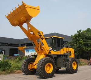 Supply 2.5 Cubic Yard Wheel Loader with Quick Coupler, Enclosed Cab With Heater And Air Conditioning