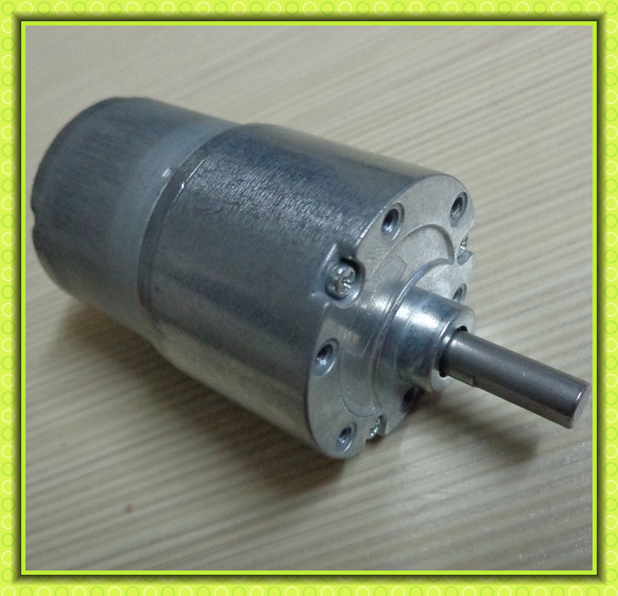 zheng dc motor with gearbox