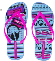 New Desigh Women'S Rainbow Flip Flops