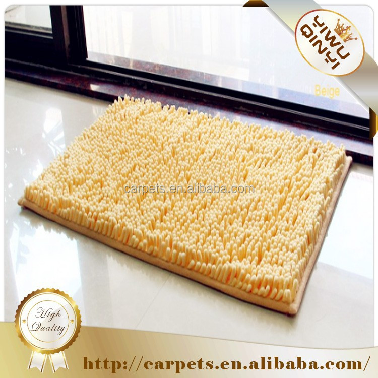 Chinese imports wholesale Microfiber chenille bath rug