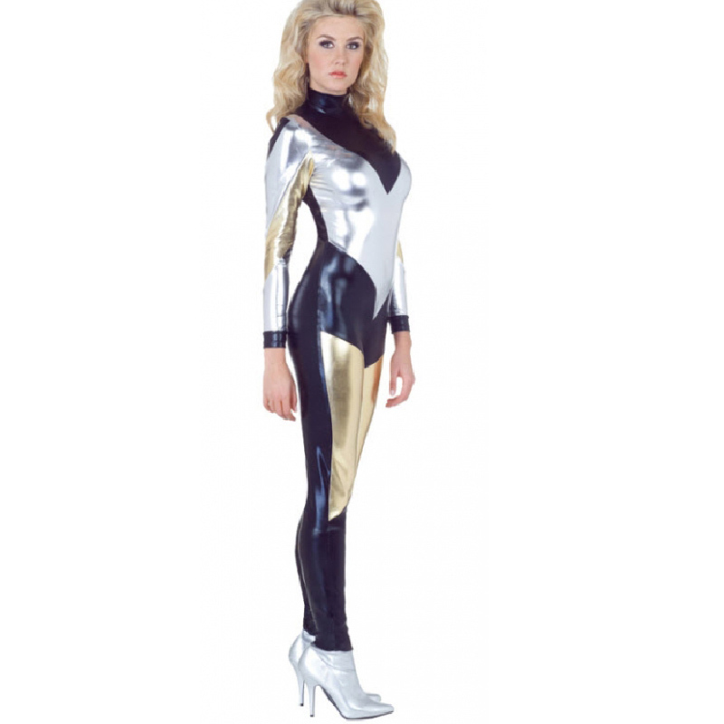 woman in tight space suit - photo #21