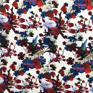 High Quality Hot Sale Custom Design Printing Cotton Spandex Fabric