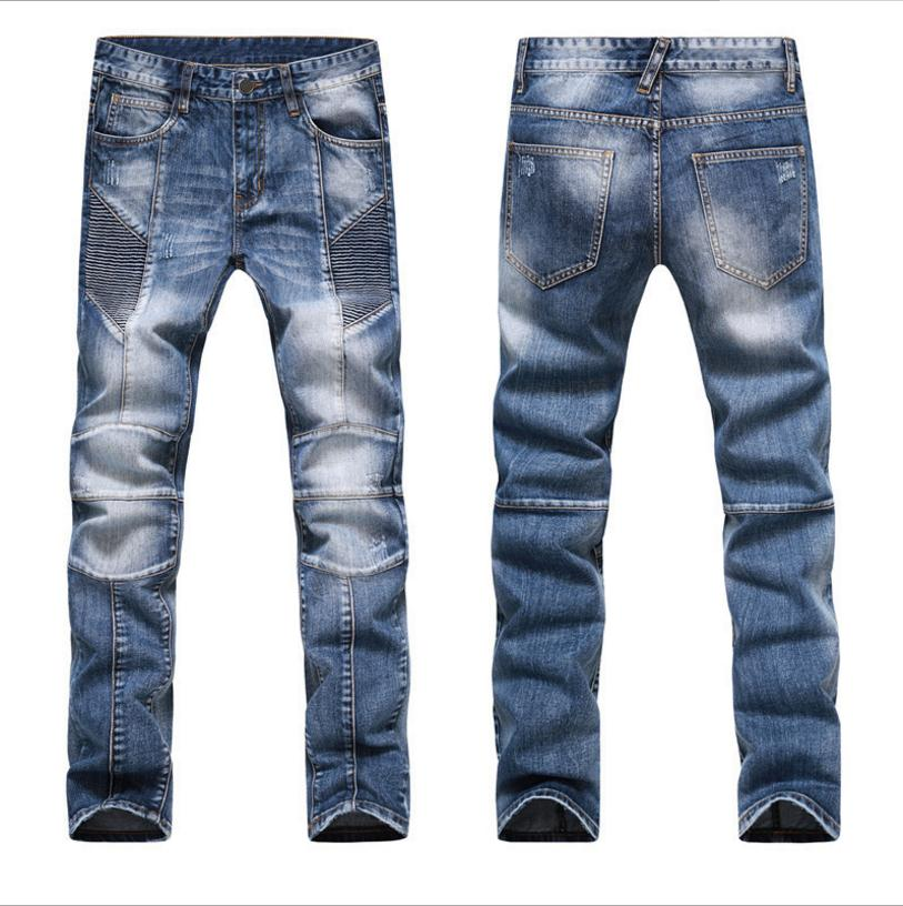 K3106A 2017 New Hot Men's Clothing Autumn Casual Jeans Male Long Trousers Straight Cotton Men's Denim Jeans For Man