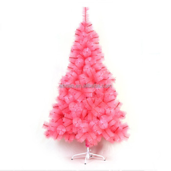 150 cm customize giant pink christmas tree outdoor pvc christmas artificial tree xmas decorations china supplier