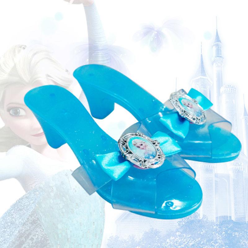 Nuevo Elsa Niño Elsa Buy Alto Princesa Zapatos Congelados Juguete Niños frozen Tacón Para De Moda ymw8ON0vn