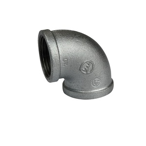 Factory supply malleable iron pipe fitting union rigid conduit elbow