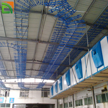 china supplier tannery leather air dry hanging conveyor systems