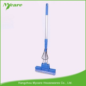 Quickly drying and machine washable ceiling cleaning pva mop