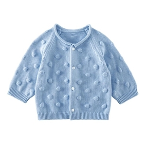 2018HangZhou Yongda Baby cotton sweater coat baby cardigan children's sweater coat spring and autumn style