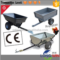 United Kingdom heavy duty outdoor utility atv log trailer