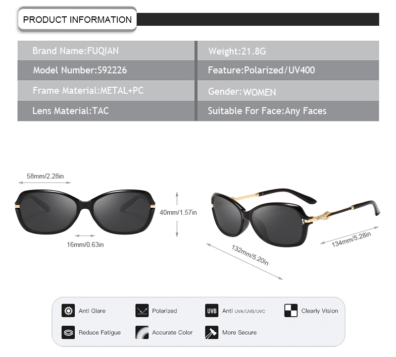 Fuqian Latest polarised sunglasses price ask online for sport-9