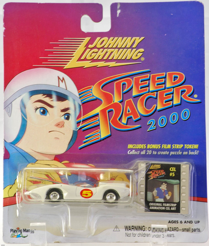 Johnny lightning speed racer 2000 mach 5 with bonus film strip token