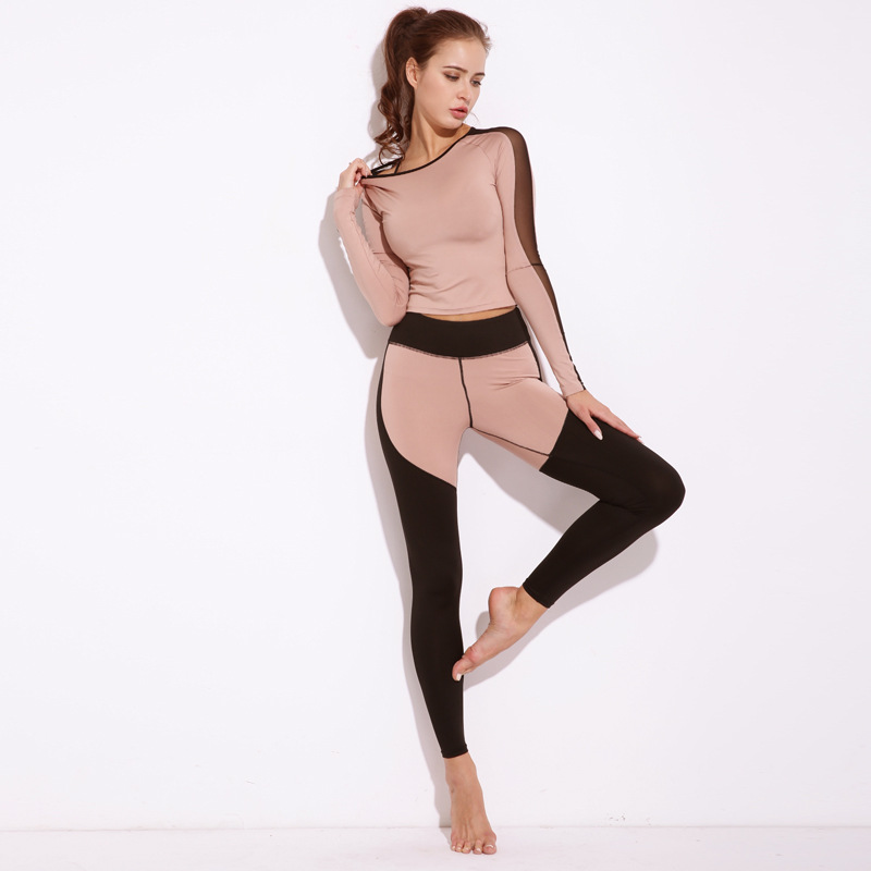 Fitness Wear Factory OEM Wholesale Long Sleeve Yoga Tank Bra Top