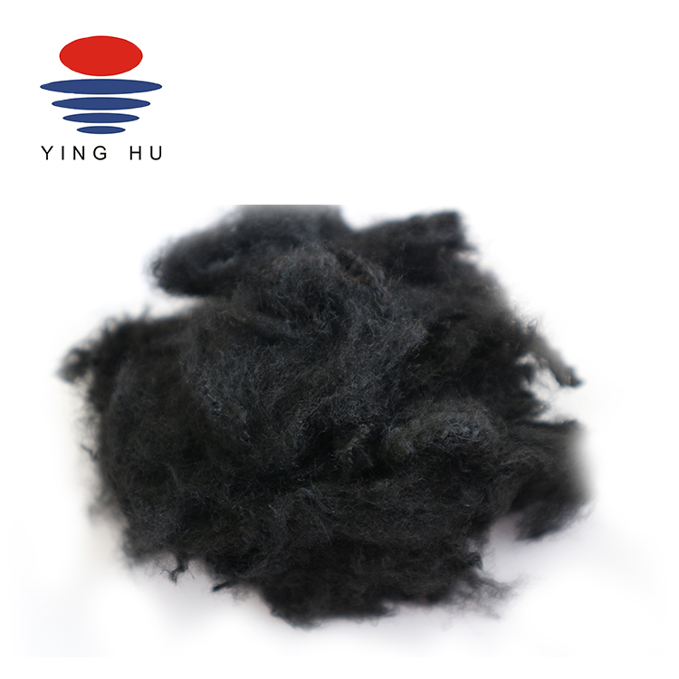 3D-6D 100% Recycled Polyester Siliconized Fiber