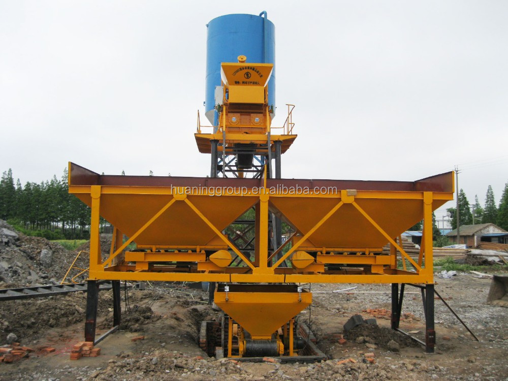 Small Cement Plant : Small m h concrete batching plant mixing