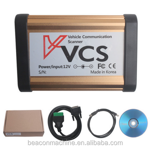 VCS Vehicle Communication Scanner,Promotion price VCS Vehicle Communication Scanner Interface VCS Scanner better than TCS
