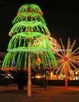 Beautiful Street Decorative Firework Series Five Floor Christmas ...