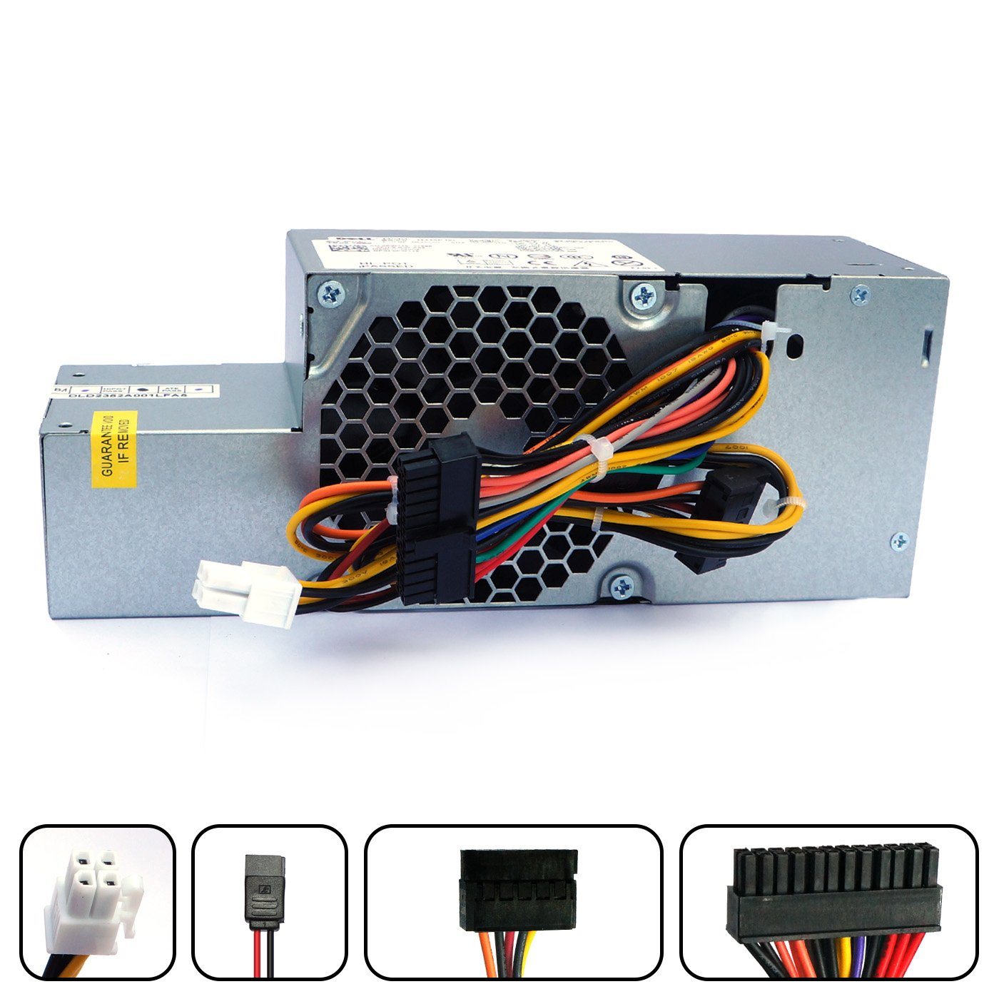 PW116 WU136 235W Desktop Power Supply For Dell Optiplex 760 780 960 980 Small Form Factor (SFF) Systems FR610 6RG54 MPF5F N6D7N RM112 67T67 R225M R224M H255T H235P-00 L235P-01 D235ES-00 F235E-00