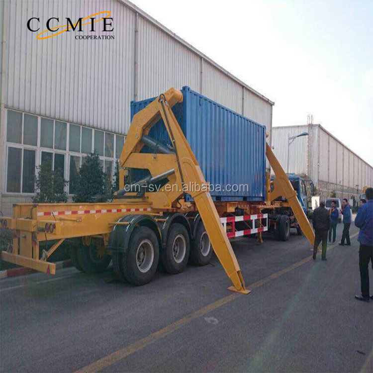 xugong MQH37A 37 ton container side lifter side loader lift truck trailer for sale
