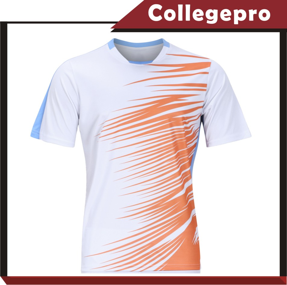 white blank school soccer Jersey set with custom LOGO