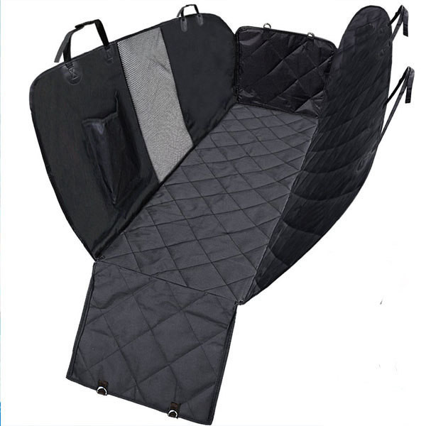 Hond Auto Seat Cover met Mesh Venster