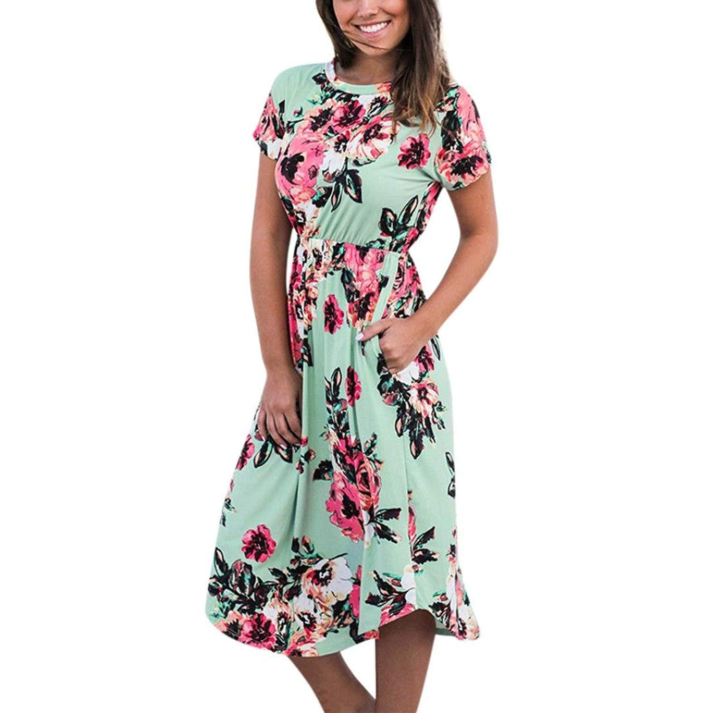 b451e6773324 Navy Blue SIVALYA Island Soiree Womens Summer Maxi Dress Loose fit Flowy  Dress
