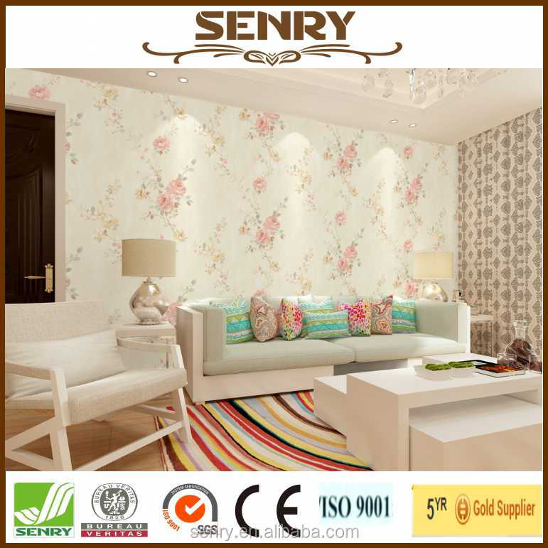 wallpaper 106cm factory in China for interior decor 1.06m * 15.6m size korea wallpaper
