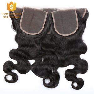 No Chemical Processed Raw Unprocessed Virgin Cuticle Aligned Indian Body Wave Hair With Closure