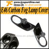 E46 M3 Carbon Fiber Front Fog Lamp Cover For BMW E46