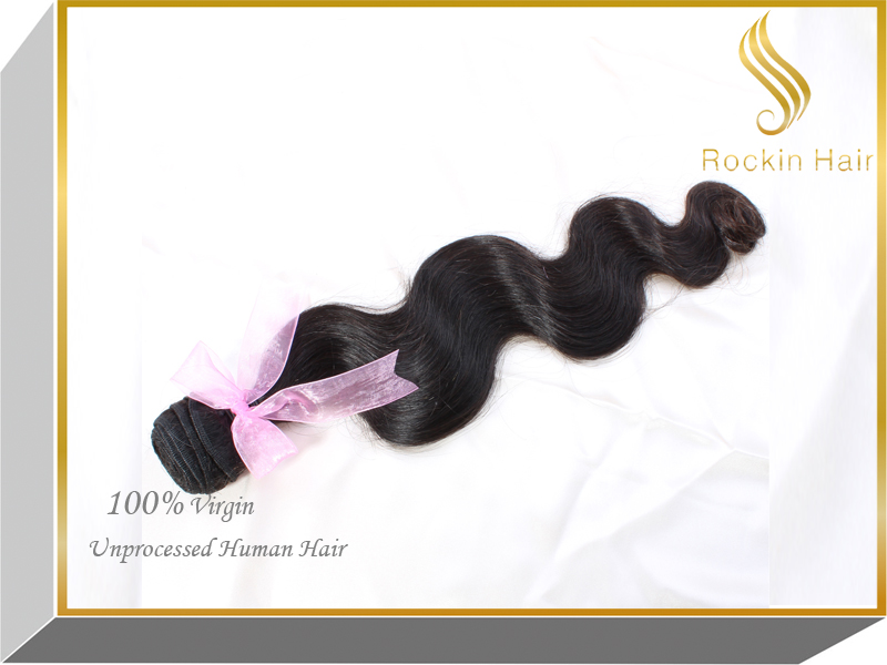 100% Unprocessed body Wave Hair Extension ,Brazilian Virgin Hair Extenion