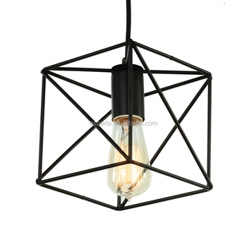 Restaurant Small Square Wire Pendant Lights - Buy Square Wire ...