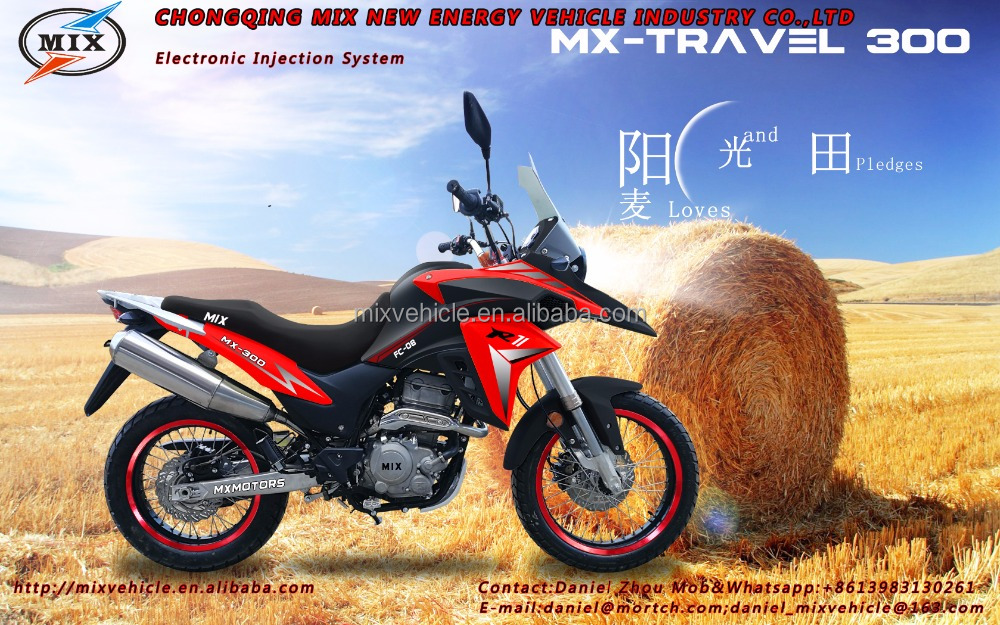 Motorcycle bros 300CC cross travel bike