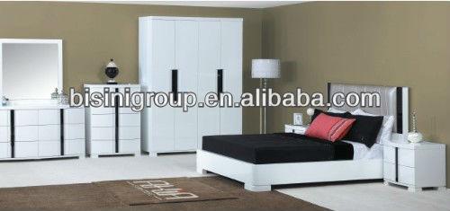 لوحة أنيقة التصميم الأوروبي جناح غرفة نوم ومجموعات الفنادق Bg90017