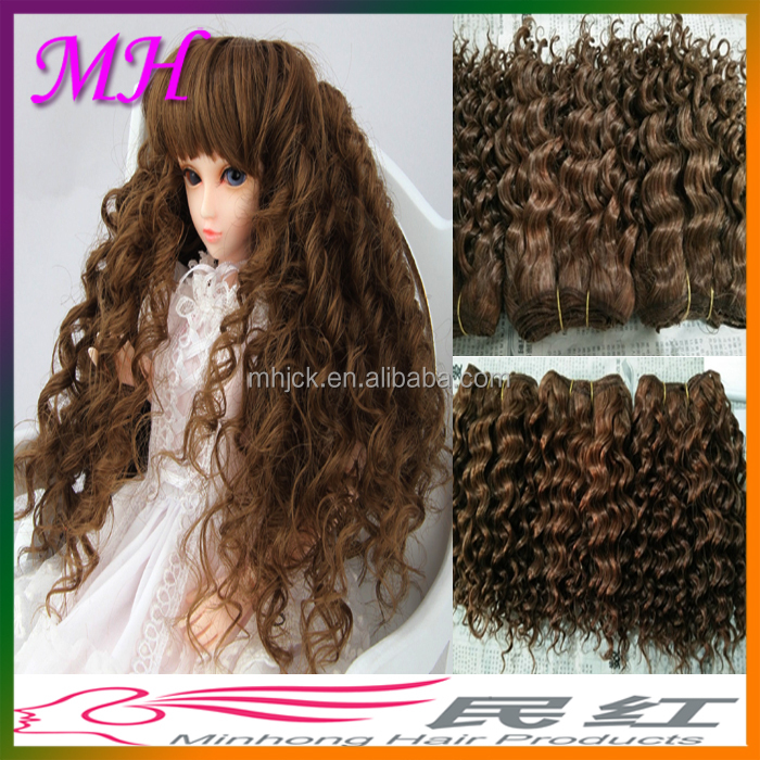 MinHong Mohair Products Straight and Curly Style Mohair for BJD Doll Reborns Dolls in UK