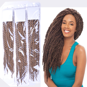 High quality fashion box braid 3x twisted bob lace front synthetic wigs for black woman