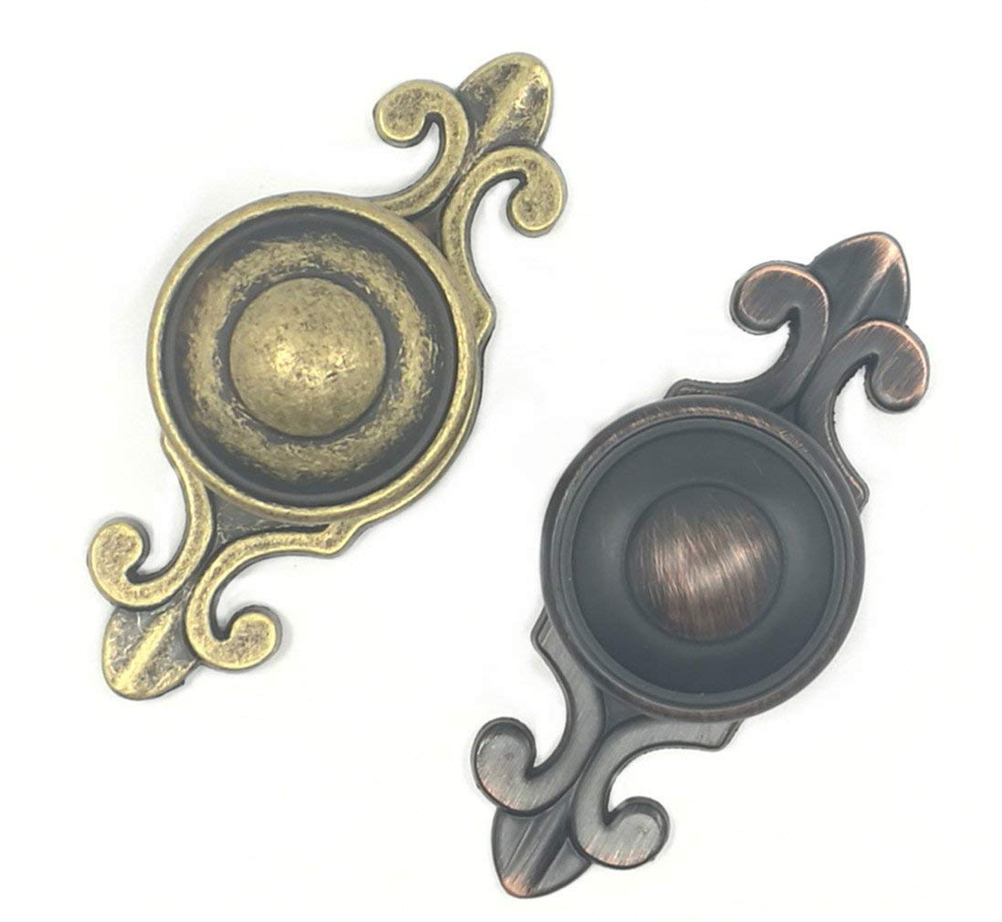 Buy Antique Bronze Cabinet Knobs Drop Pulls Dresser Drawer