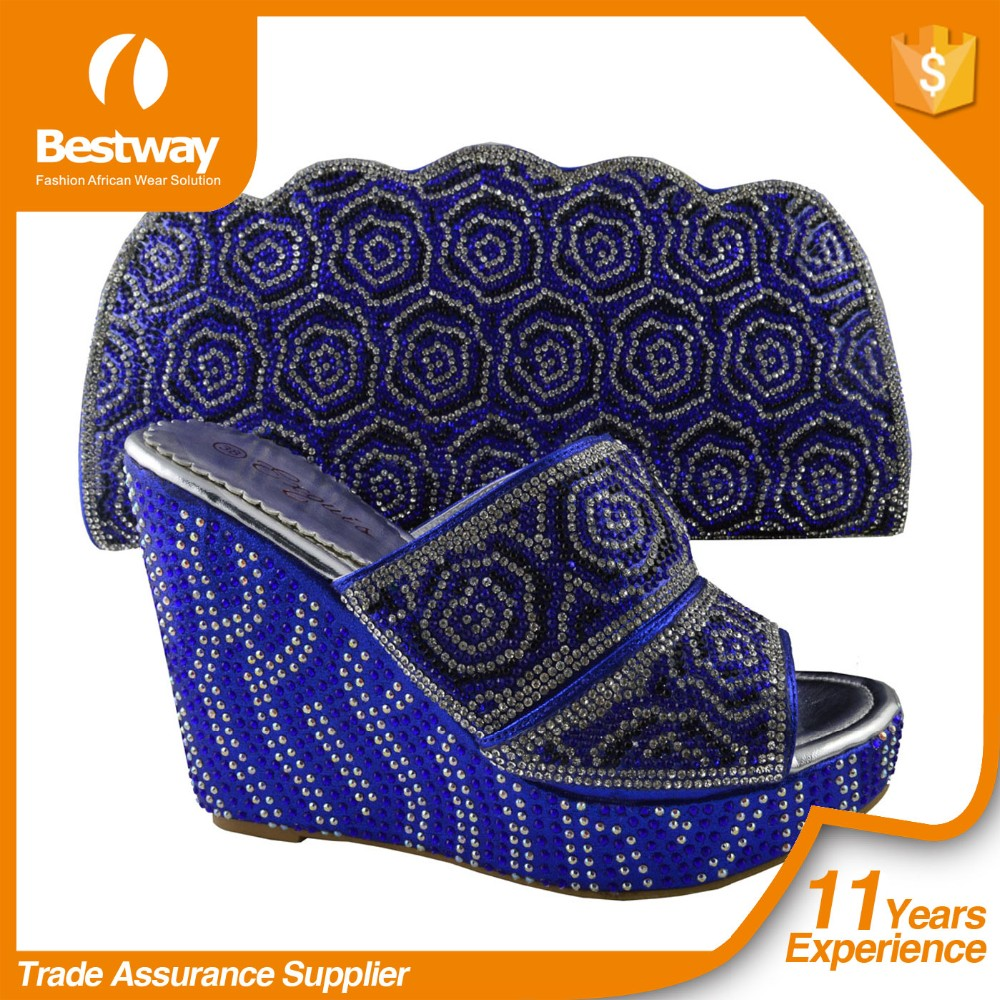 Bestway High Quality MG1010-5 Italian Shoes And Bags