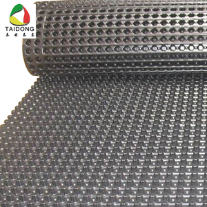 Earthwork products roof drainage dimple mat