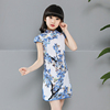 Best Cotton Double Tang Suit Casual Summer Chinese Dress Cheongsam