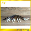 77mm length nonconducting ceramic tweezers with bent hear resistant caremic tip factory price