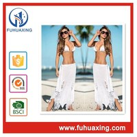 2016 white without sequins girls beachwear