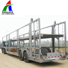 5 China hot sale vehicle transporting car hauler / car carrier semi trailer for sale