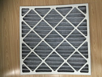 Panel Filter Construction hvac activated carbon air filters