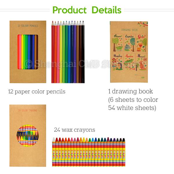 Innovadoras Eco Amigable Niños De Dibujo Conjunto Incluyendo Libros ...