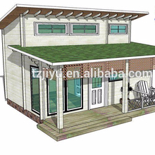 Holiday wooden cabin prefab wooden house log house