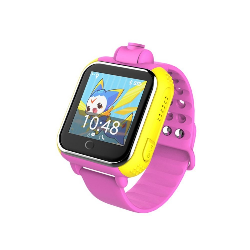 wristband tracker 3G rotating camera kids gps tracker smart watch with 1.54 inch IPS touch screen