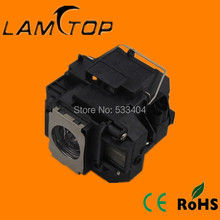Free shipping   LAMTOP  projector lamp  with housing/cage  ELPLP56  for  MovieMate 60