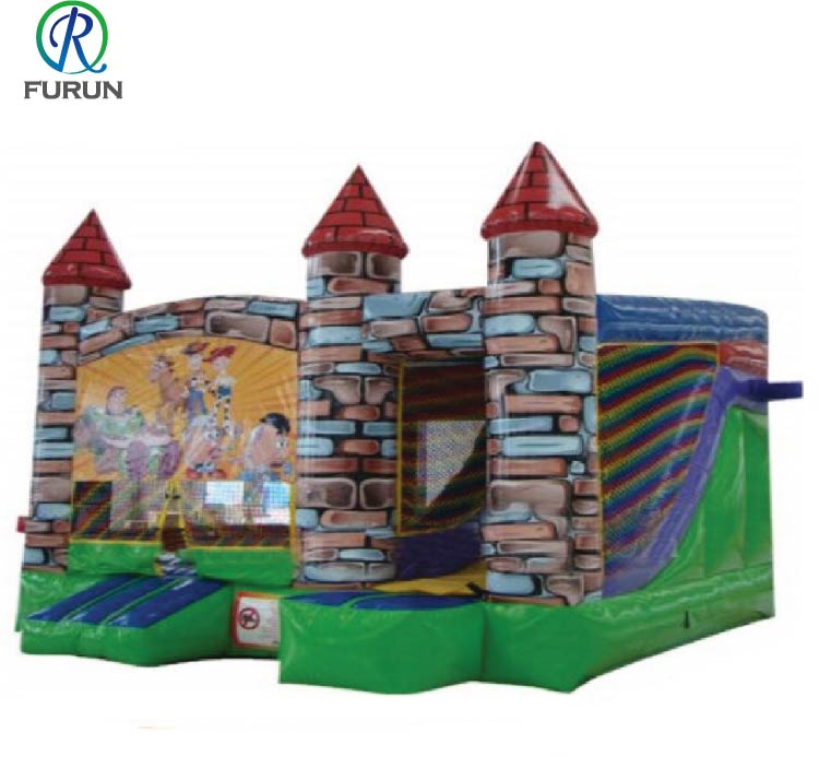 Popular hot sale inflatable mosque castle