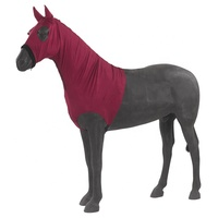 Lycra horse hood with ears