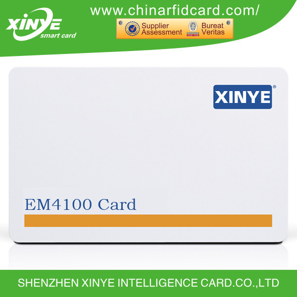 CMYK Printed 125khz I-Prox Access Control Card With T5557/EM